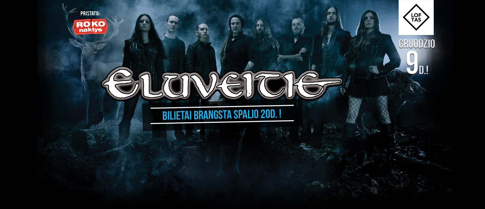 Roko Naktys presents: Eluveitie (CH) + guests