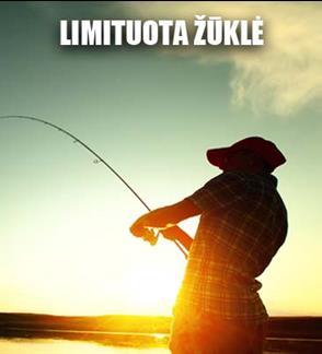 Žvejo mėgėjo kortelė limituotai žvejybai Nemuno deltoje