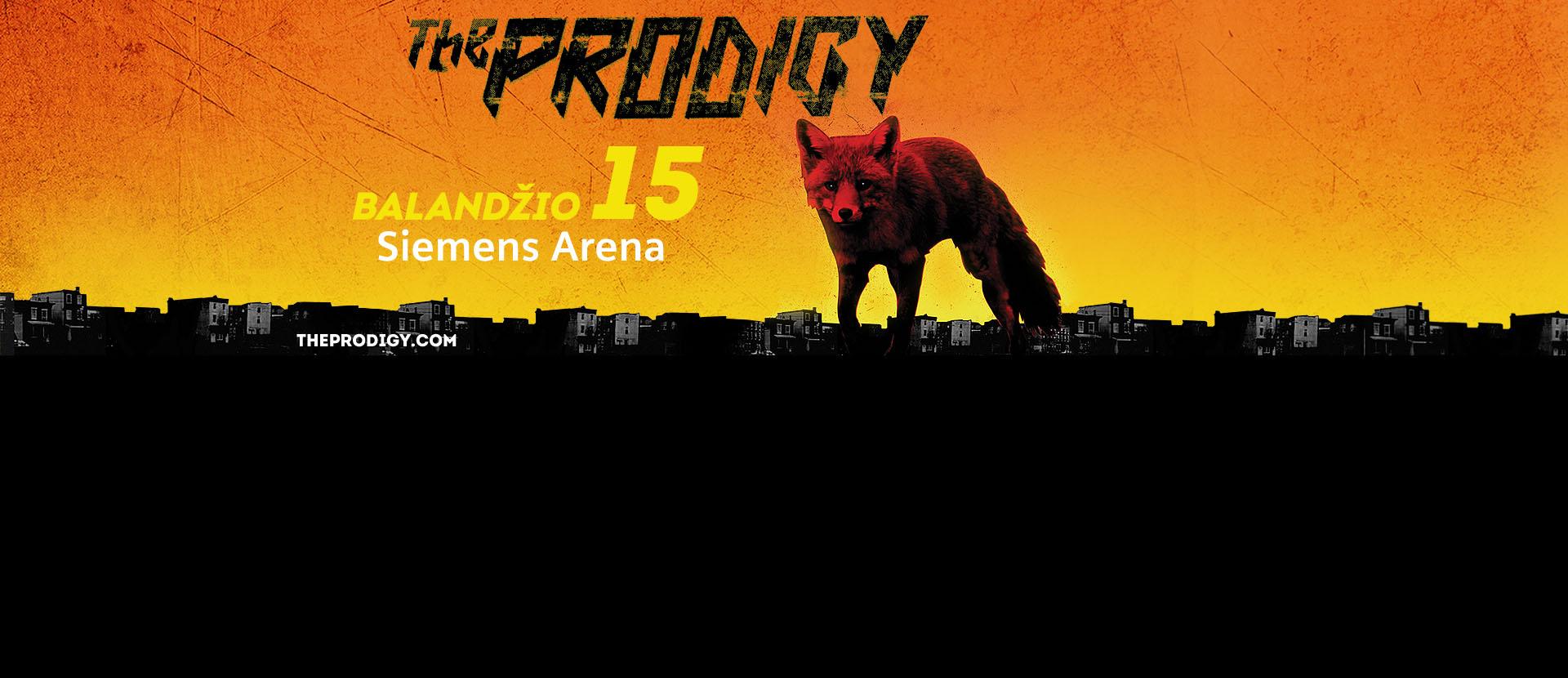 """""""The Prodigy"""" koncertas"""