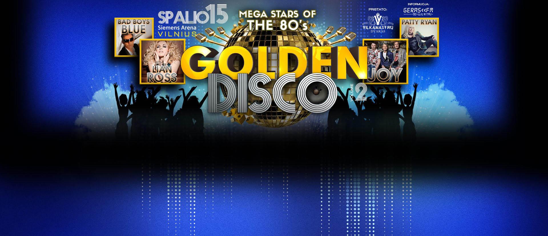 "Koncertas ""Golden Disco 2"""