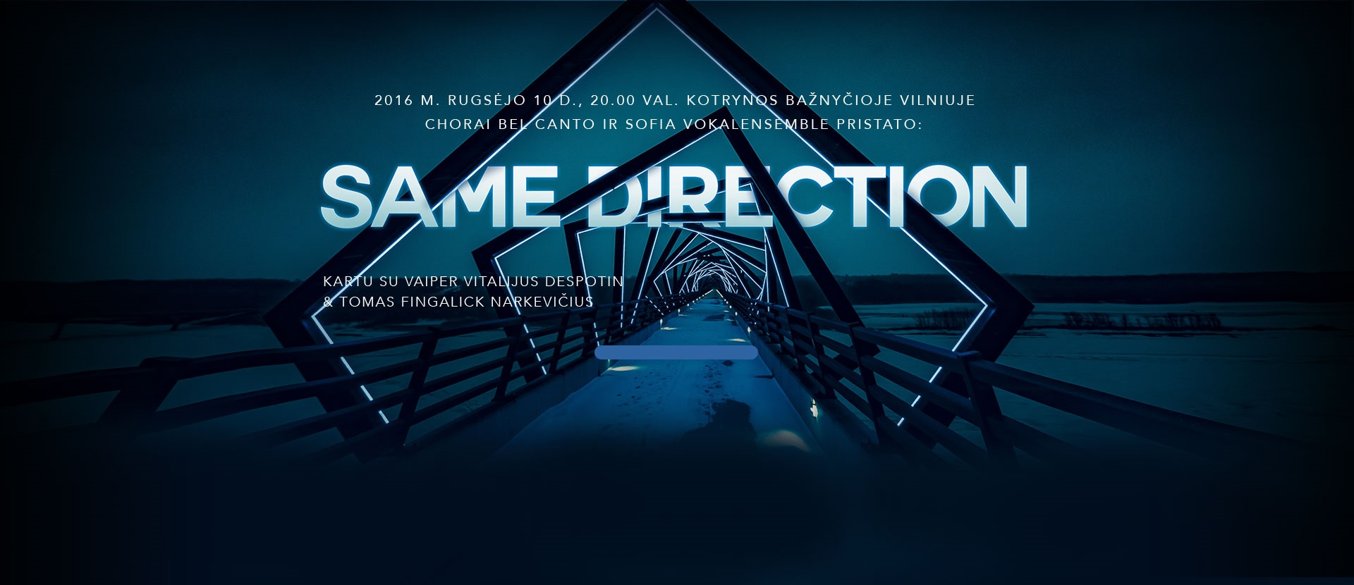 Choras Bel Canto pristato: Same Direction