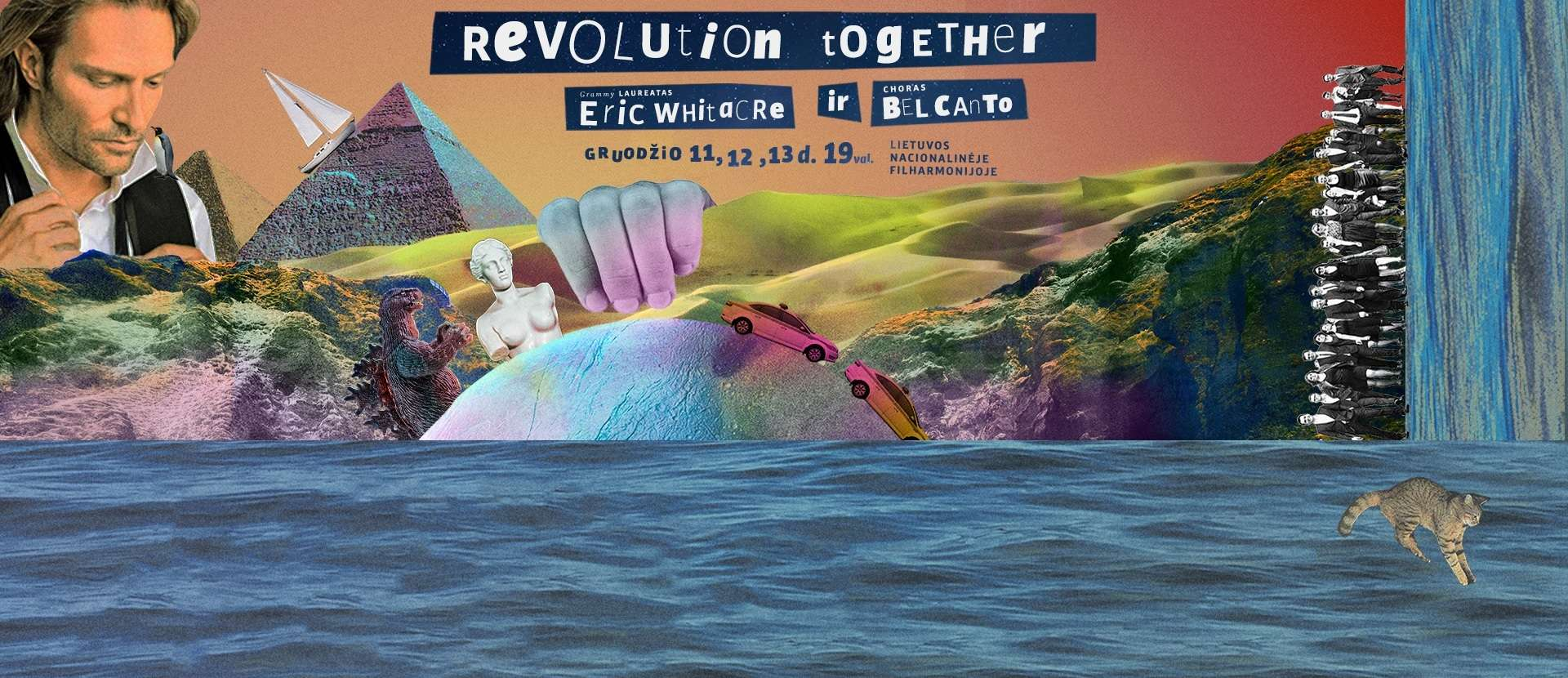 Eric Whitacre ir choras Bel Canto pristato: Revolution Together