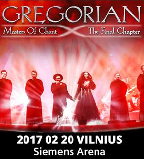 GREGORIAN - MASTERS OF CHANTS THE FINAL CHAPTER