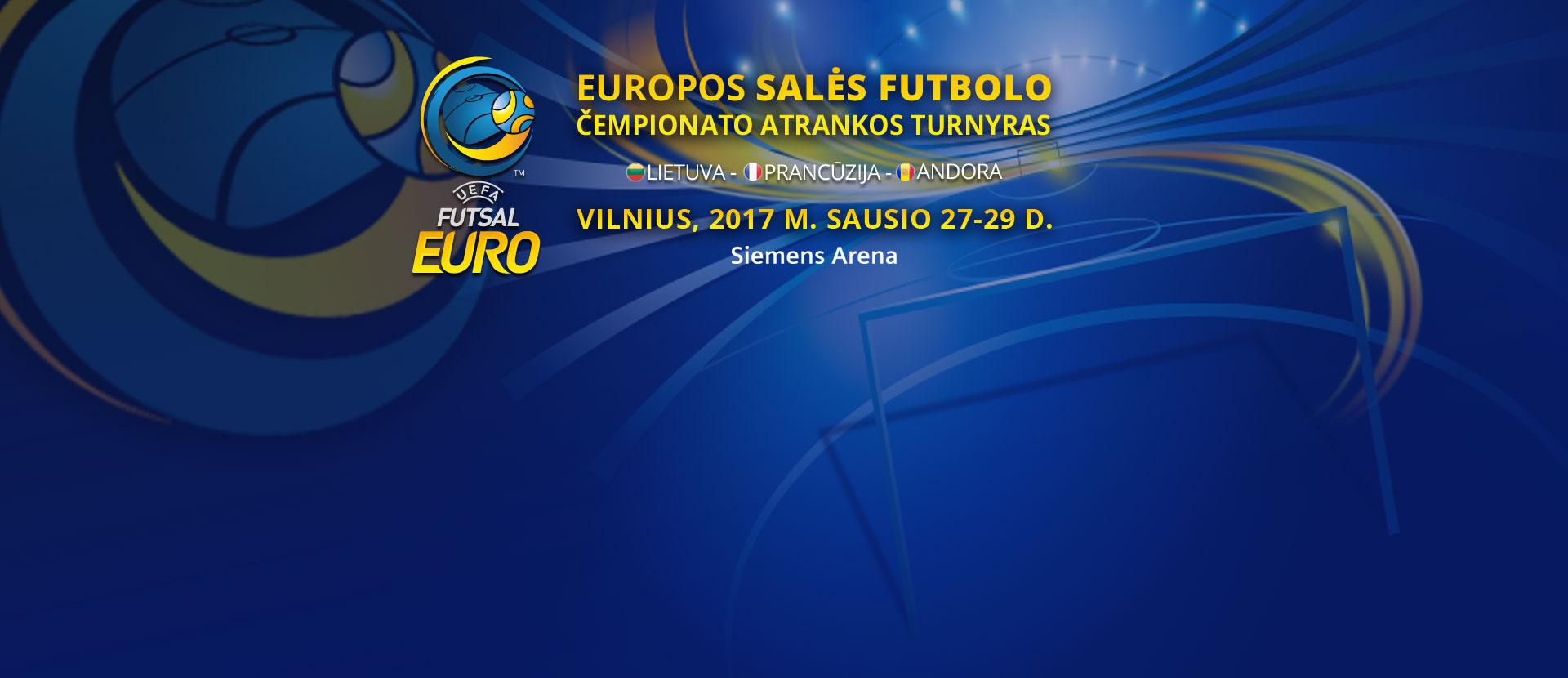Еuropos salės futbolo čempionato atrankos rungtynės: