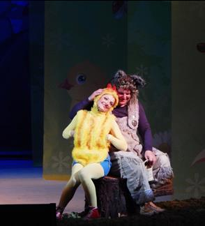 """Baltarusijos valstybinis akademinis muzikinis teatras """"Auksinis viščiukas"""""""