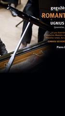 Pianistas Ugnius Pauliukonis: Romantizmo keliu
