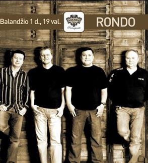 """Grupė """"Rondo"""": auksiniai hitai gyvai!"""