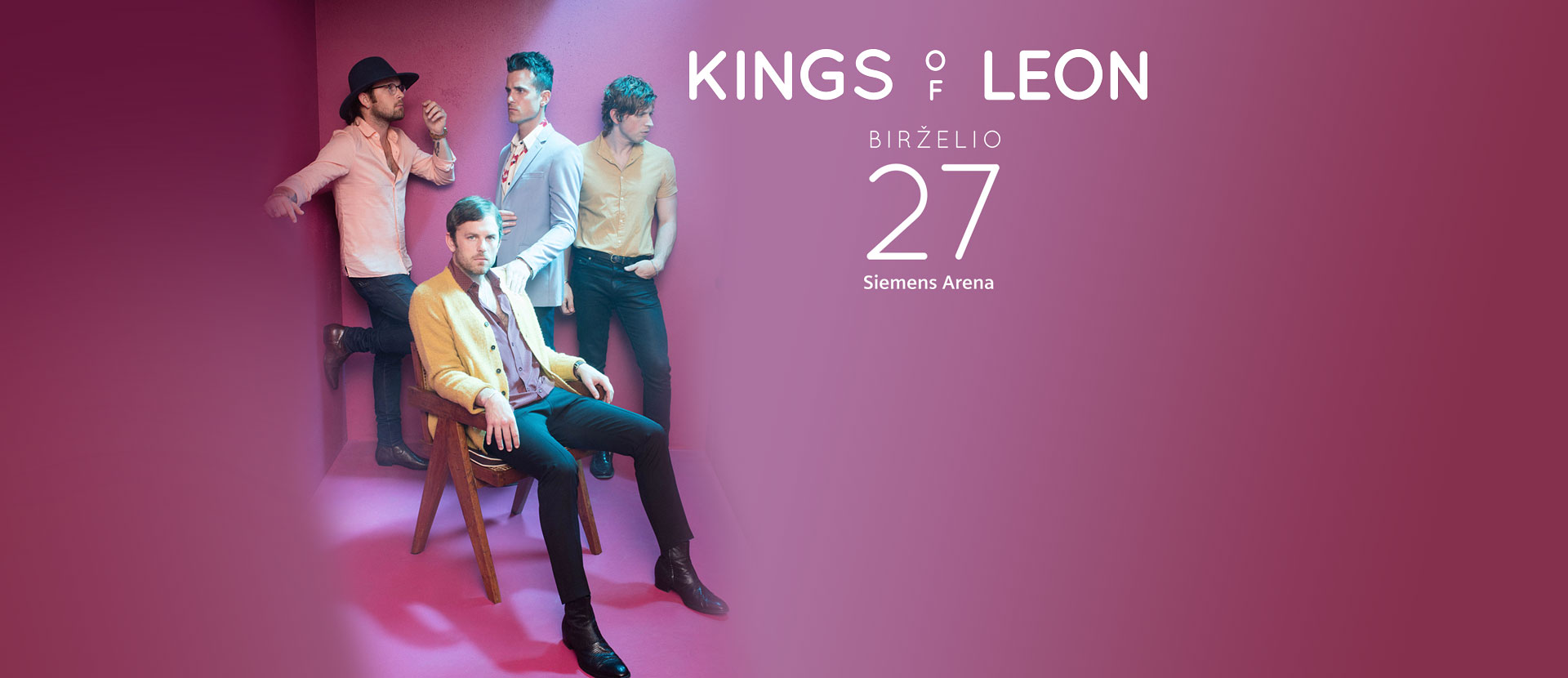 KINGS OF LEON - WALLS tour