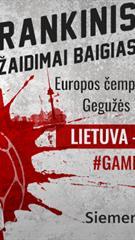 Europos rankinio čempionatas: Lietuva - Belgija
