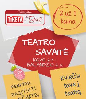 Teatro savaitės akcija