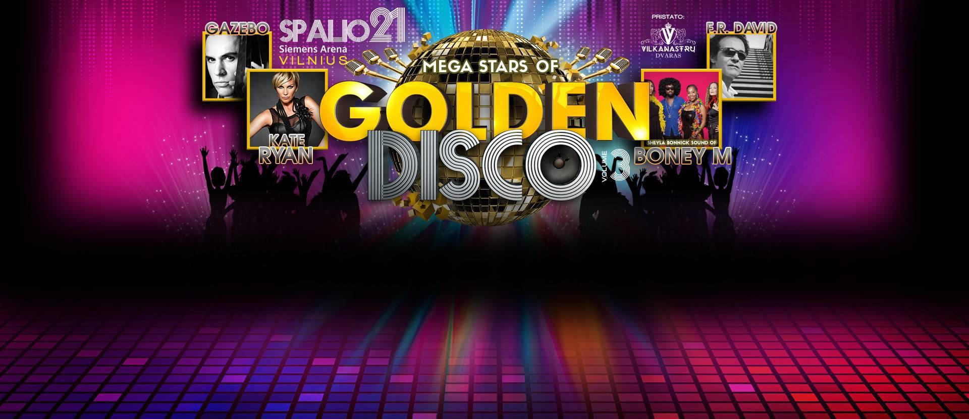 "Koncertas ""Golden Disco 3"""