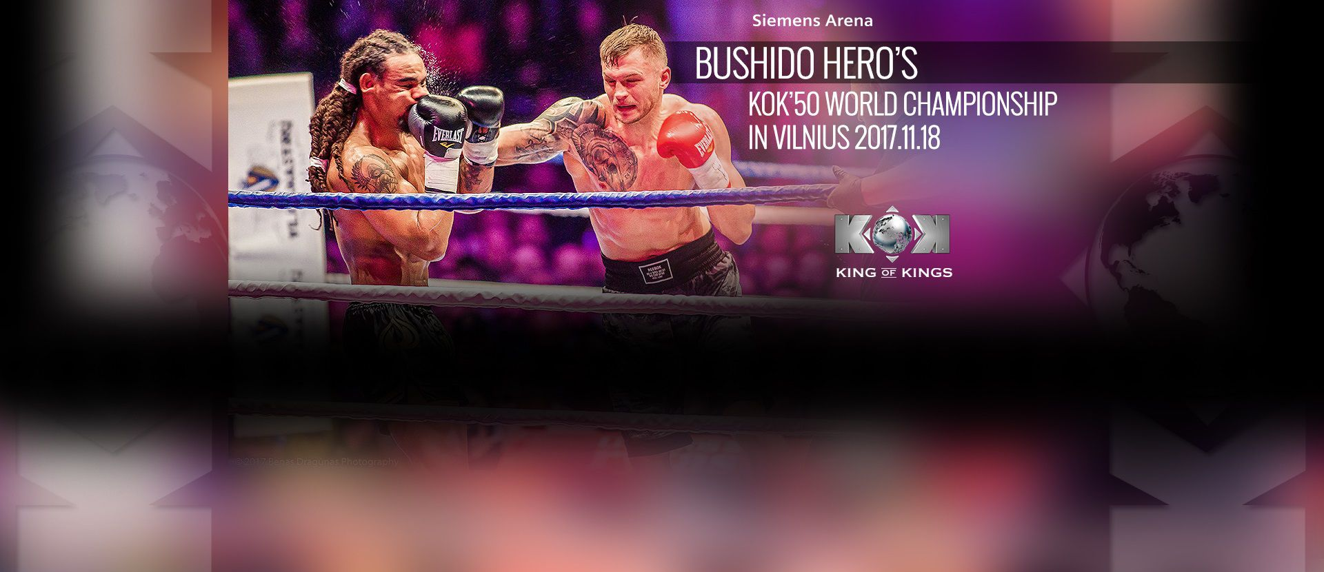 """Таrptautinis turnyras """"BUSHIDO HERO'S 2017 Vilnius"""" šou"""