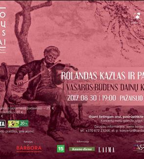 Pažaislio liepų alėjos vakarai: Rolandas Kazlas ir Pakeleiviai