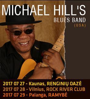 MICHAEL HILL`S BLUES BAND (USA) koncertas