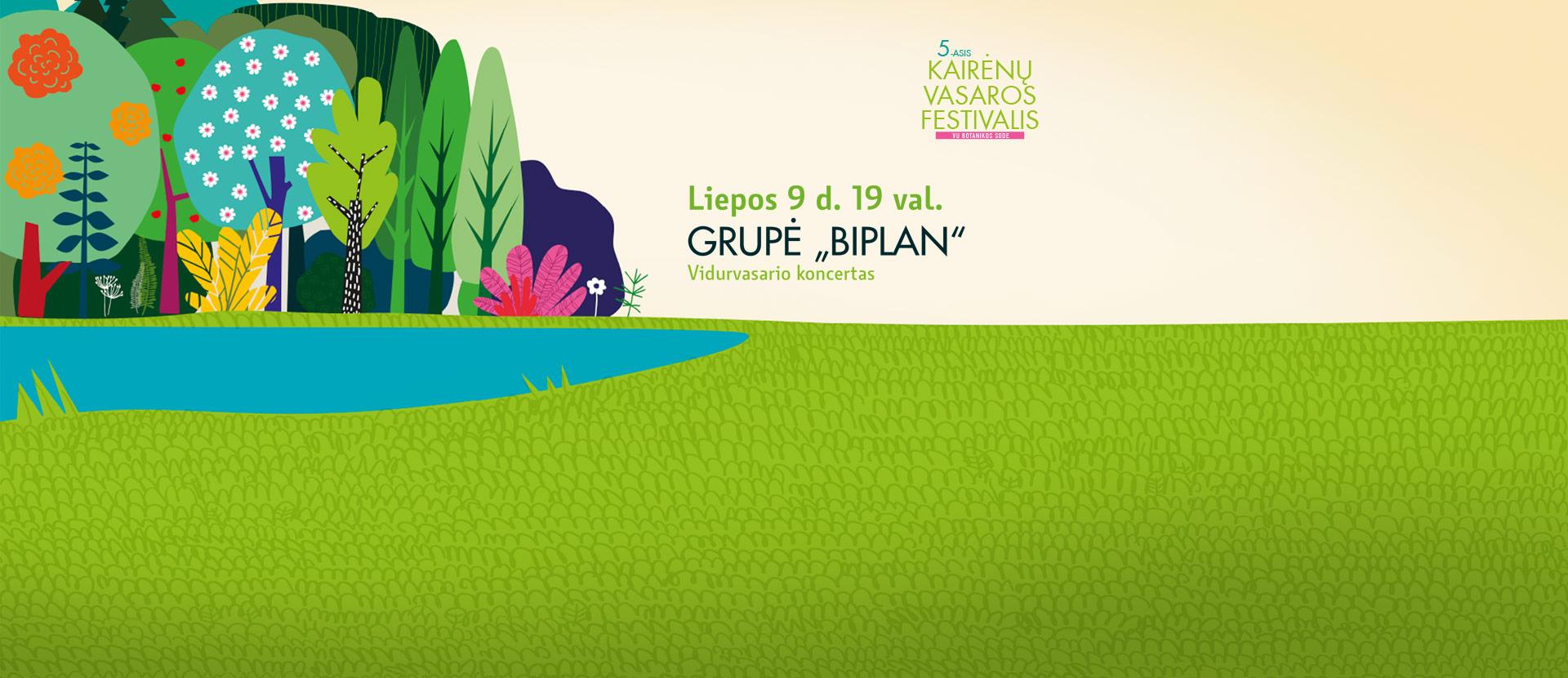 Kairėnų vasaros festivalis: Biplan