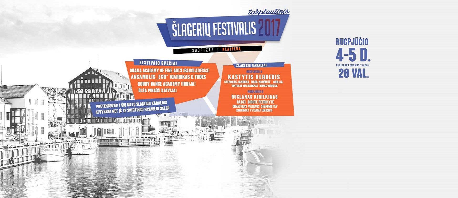Tarptautinis Šlagerių Festivalis Klaipėda-2017