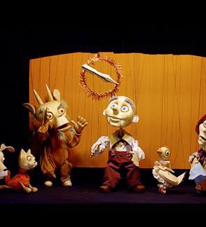 Silvestras Dūdelė   Marionečių teatro spektaklis
