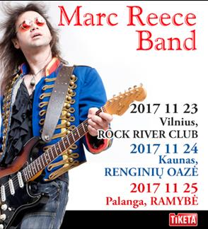 MARC REECE BAND - Live: Let It Burn!