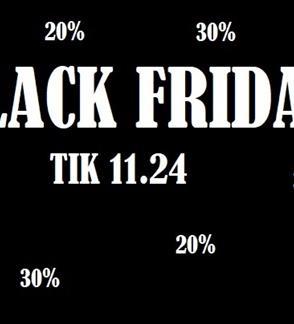 BLACK FRIDAY 11.24
