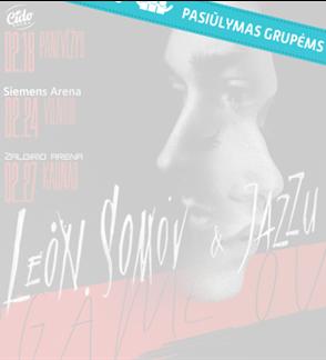 Pasiūlymas grupėms: Leon Somov & Jazzu | Game Over
