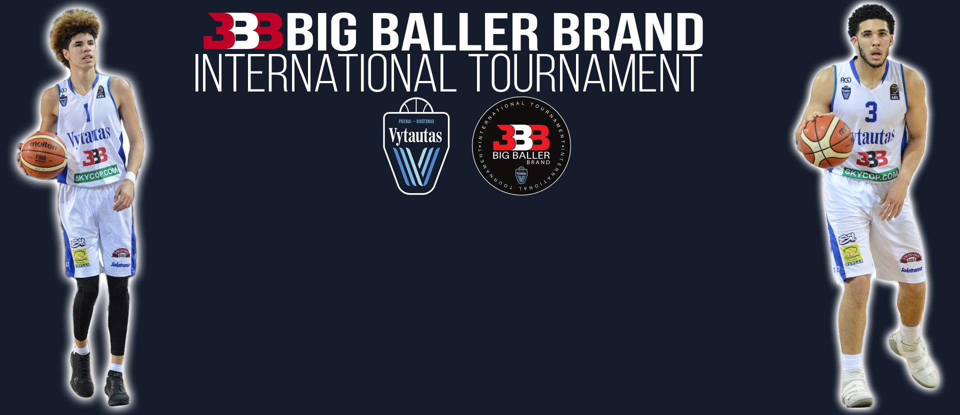 """Big Baller Brand International tournament"" draugiškos rungtynės:"