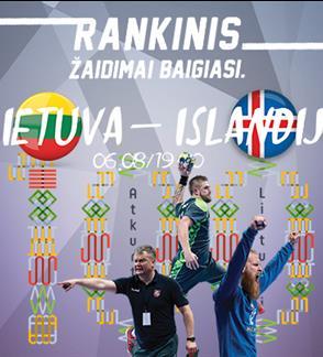 Pasaulio atrankos rungtynės: Lietuva - Islandija