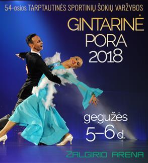 Gintarinė pora 2018