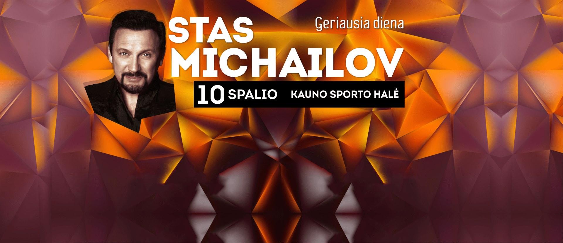 Stas Michailov koncertas