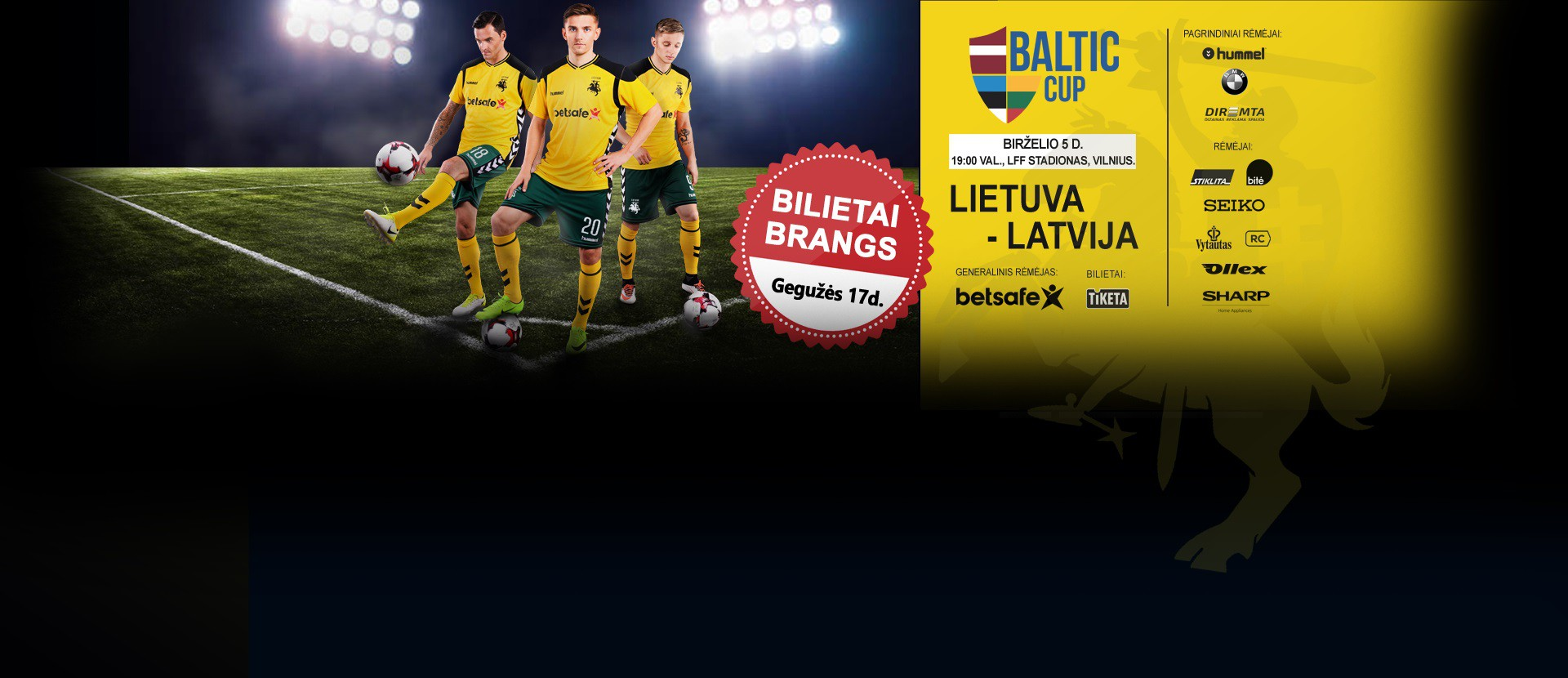 Baltijos taurė: Lietuva – Latvija