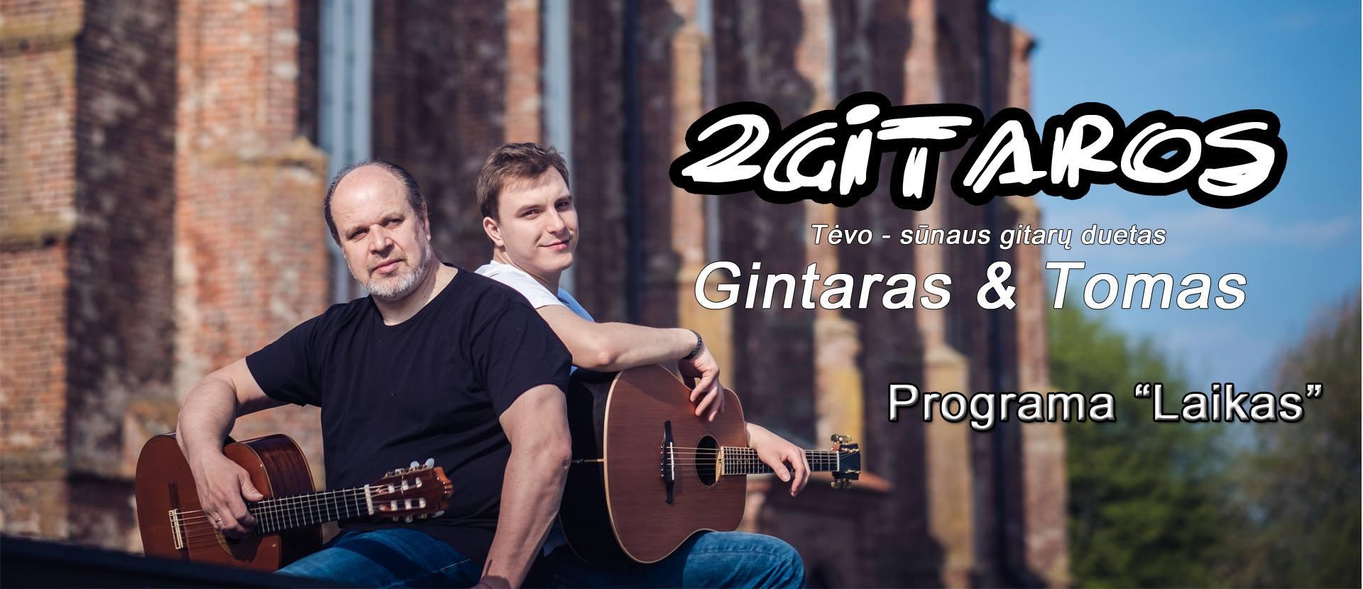 """""""2gitaros"""" Gintaras ir Tomas. Programa """"Laikas"""""""