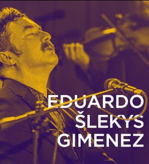 Argentinietiškas tango ir lietuviška nostalgija su Eduardo Gimenez