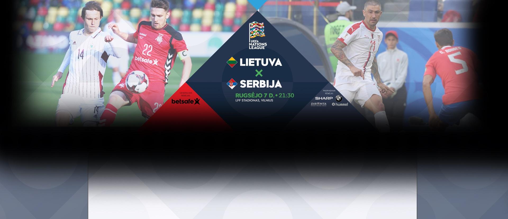 Tautų lygos turnyras: Lietuva – Serbija