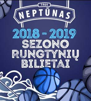 Neptunas Klaipeda basketball games: