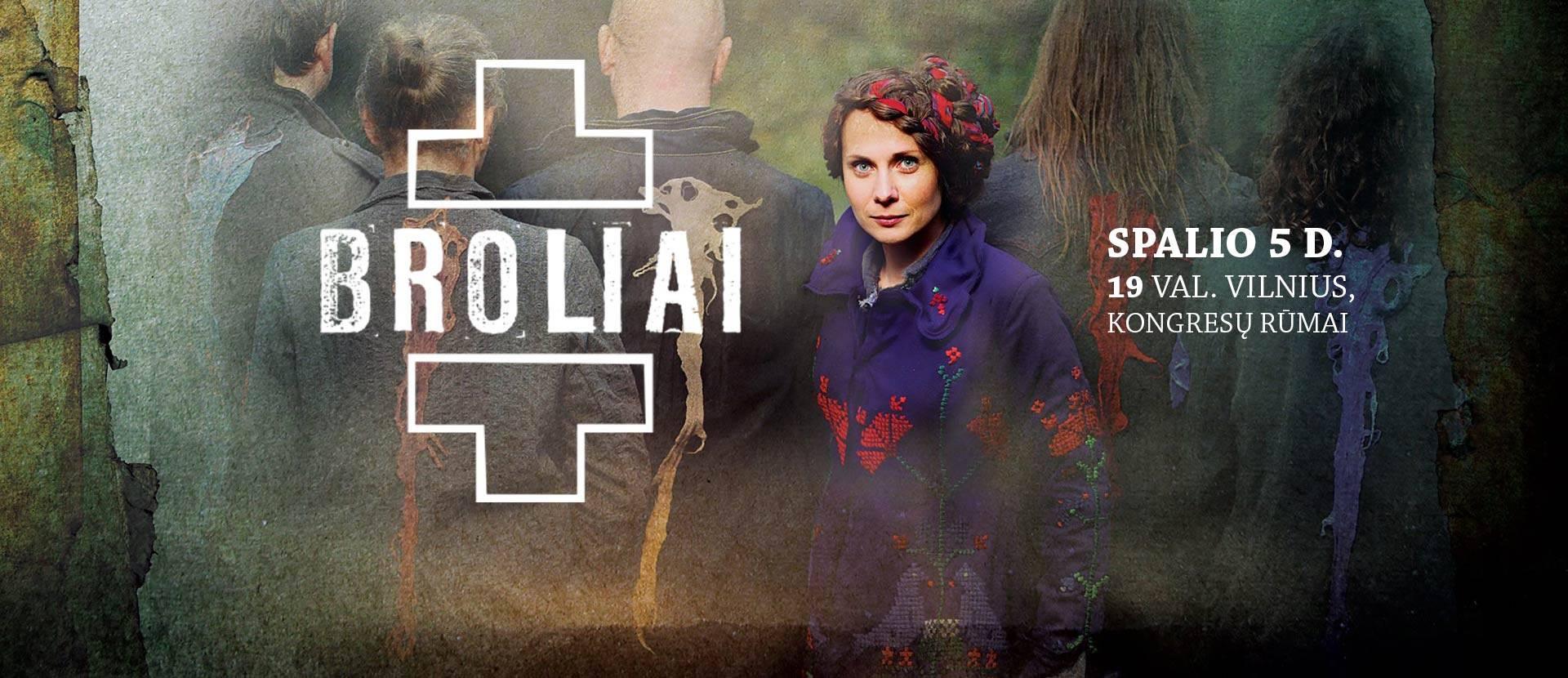 A. Smilgevičiūtės ir grupės SKYLĖ koncertas BROLIAI
