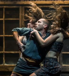 DURYS (šokio spektaklis), rež. Jo Strømgren (Norvegija)