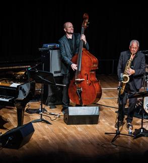 VILNIUS MAMA JAZZ I ANDY SHEPPARD with ESPEN ERIKSEN TRIO ir Lithuanian JJazz Ensemble