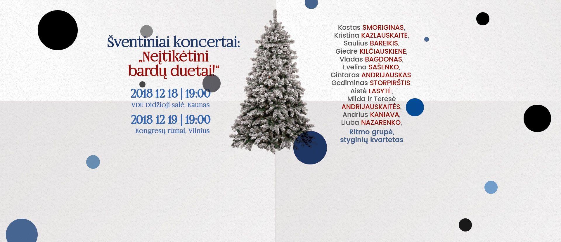 Neįtikėtini bardų duetai | Kaunas