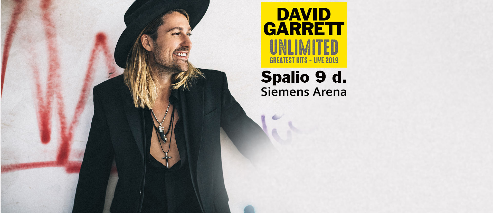 DAVID GARRETT UNLIMITED - GREATEST HITS - LIVE 2019