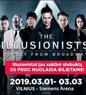 Iliuzionistų šou THE ILLUSIONISTS LIVE