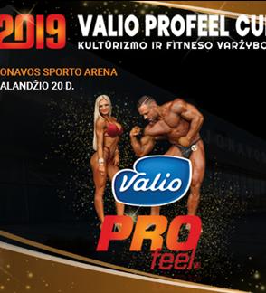 "IFBB turnyras ""Valio ProFeel Cup 2019"" ir WRPF LT taurė"