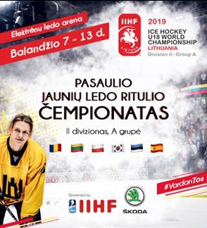 2019 Pasaulio jaunių iki 18 m. LEDO RITULIO čempionatas