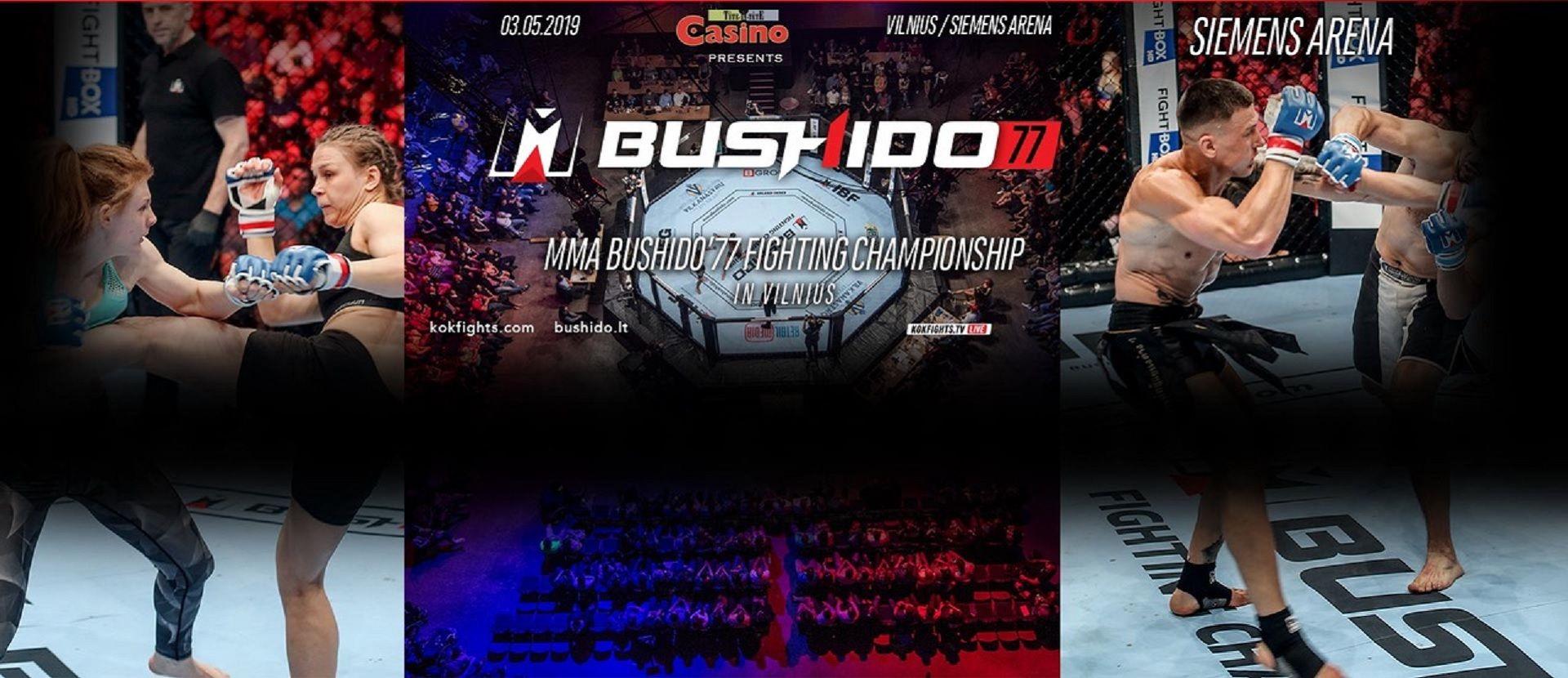MMA BUSHIDO'77 FIGHTING CHAMPIONSHIP