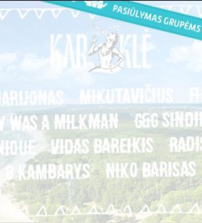Pasiūlymai grupėms: KARKLĖ FESTIVAL 2019