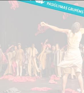 "Pasiūlymai grupėms: ""Kirina"" (10+) / Faso Danse Theatre (Belgium) / III international theater festival ""TheATRIUM"""