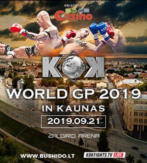 Bushido & KOK WORLD SERIES 2019 IN KAUNAS