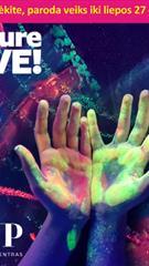 Future Live interaktyvi nuotykių ir pramogų paroda (Paroda vyks iki 2019 metų liepos 27 d.)