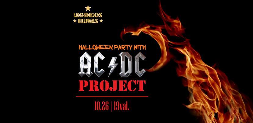 Halloween Feest.Ac Dc Halloween Party With Ac Dc Project En Tiketa