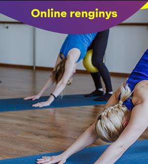 "Online: Treniruotė Nr. 1  ""Pilates su Larisa Markevičiene"""