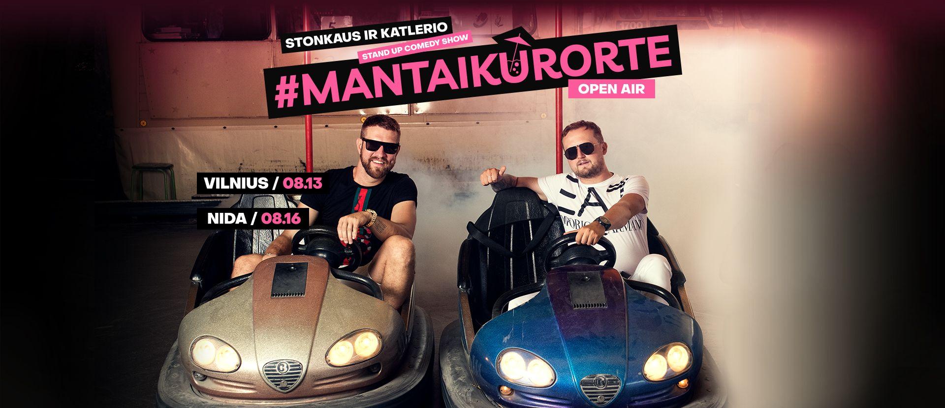 Stonkus ir Katleris: #MantaiKurorte