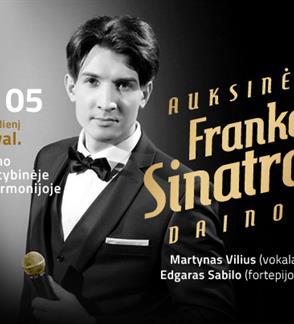 AUKSINĖS FRANKO SINATROS DAINOS / MARTYNAS VILIUS / SABILO